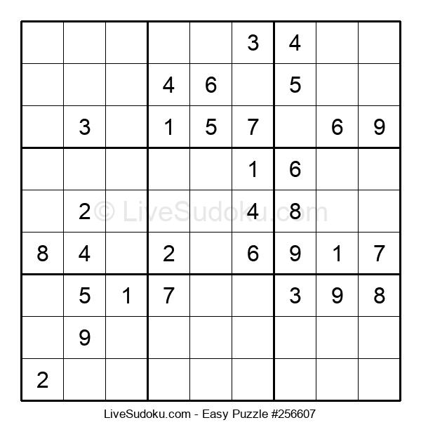 Beginners Puzzle #256607