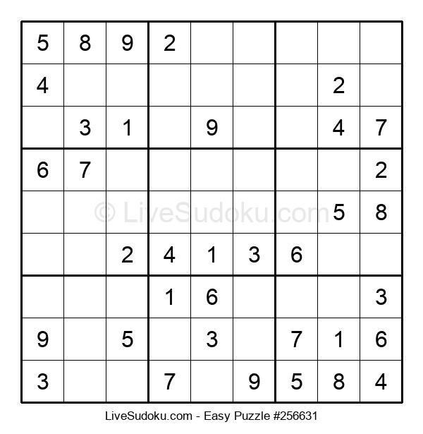 Beginners Puzzle #256631