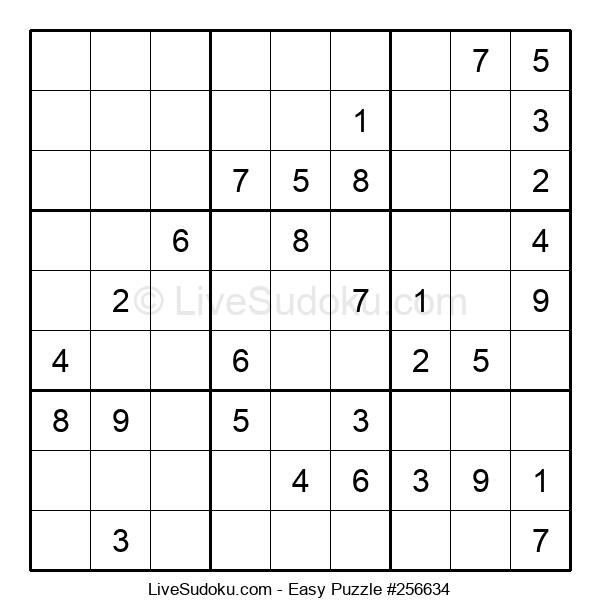 Beginners Puzzle #256634
