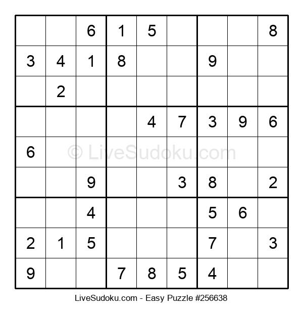 Beginners Puzzle #256638