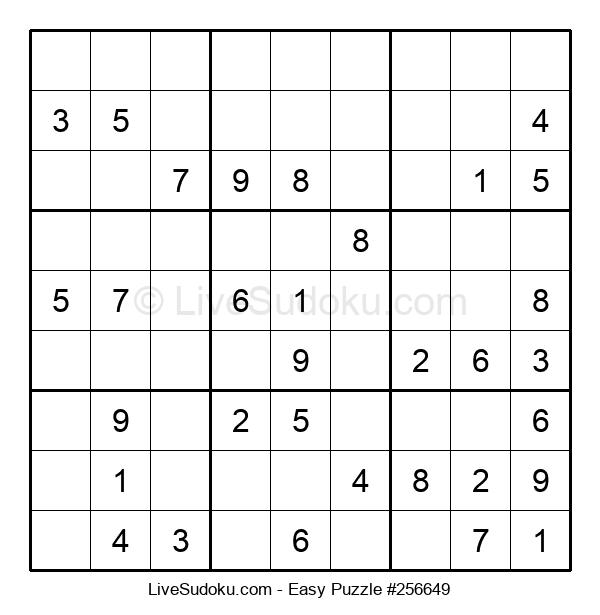 Beginners Puzzle #256649