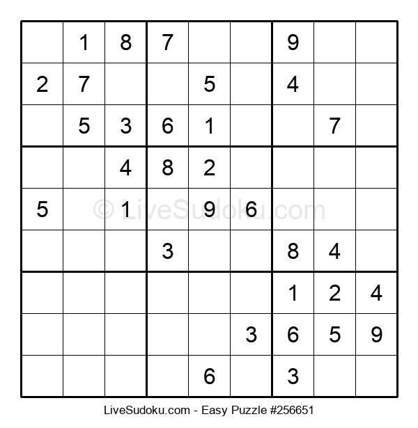Beginners Puzzle #256651