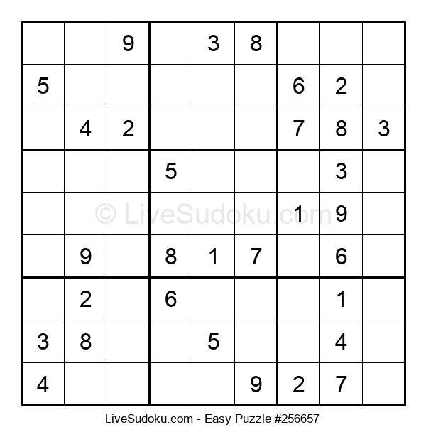 Beginners Puzzle #256657