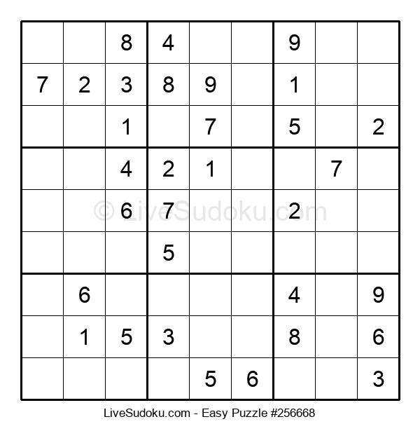 Beginners Puzzle #256668