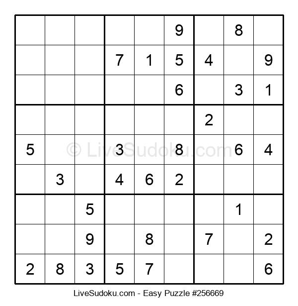 Beginners Puzzle #256669