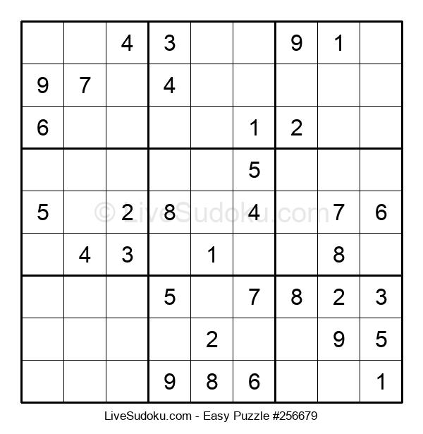 Beginners Puzzle #256679
