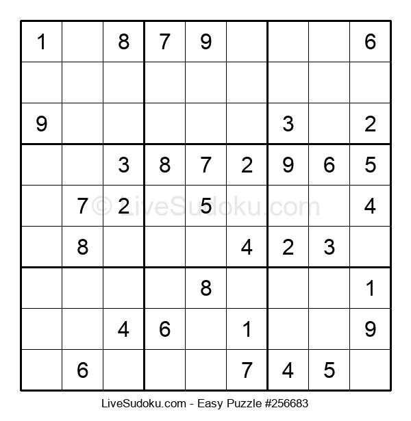 Beginners Puzzle #256683