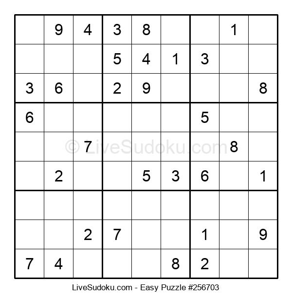 Beginners Puzzle #256703