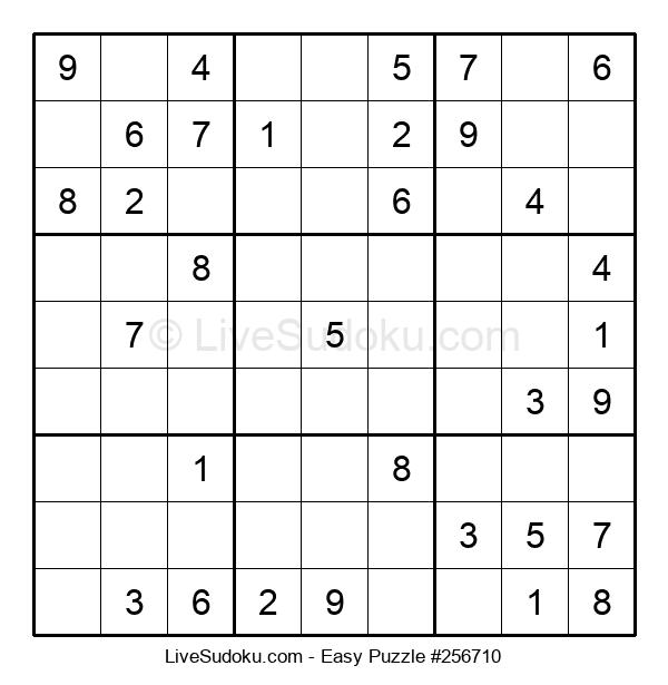 Beginners Puzzle #256710