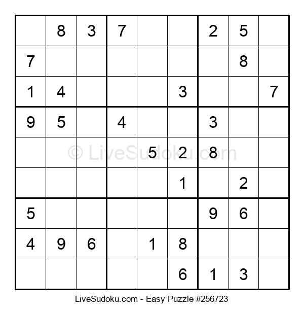 Beginners Puzzle #256723