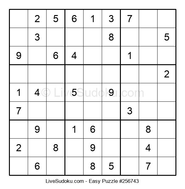 Beginners Puzzle #256743