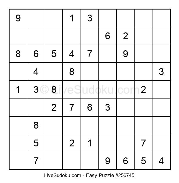Beginners Puzzle #256745