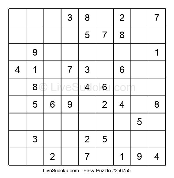 Beginners Puzzle #256755