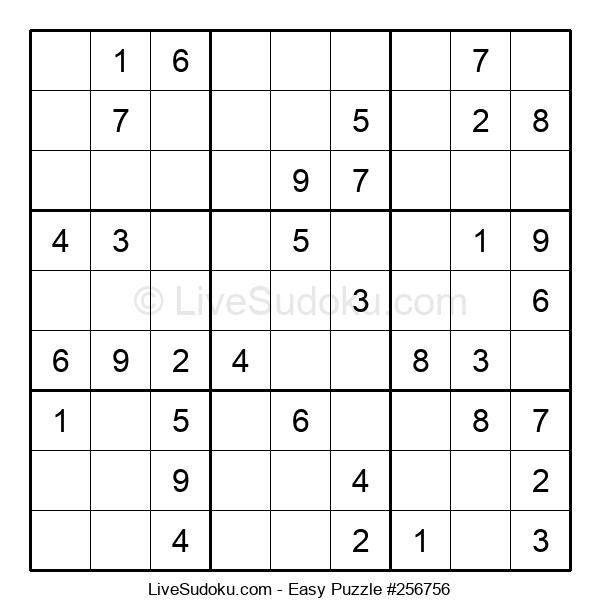 Beginners Puzzle #256756