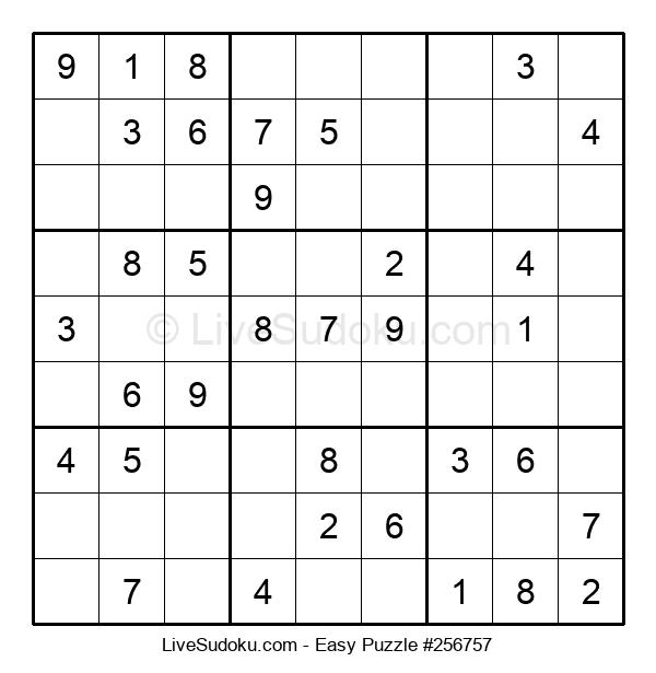 Beginners Puzzle #256757