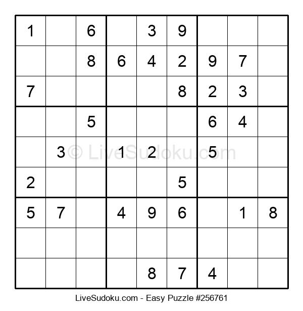 Beginners Puzzle #256761