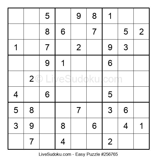 Beginners Puzzle #256765
