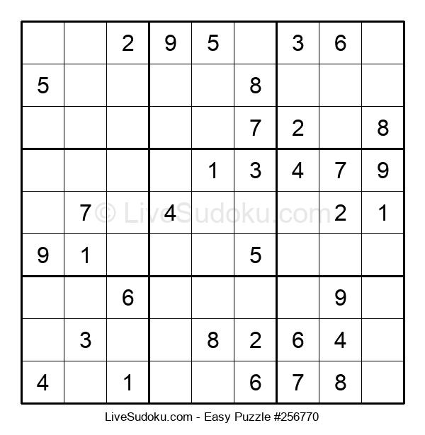 Beginners Puzzle #256770