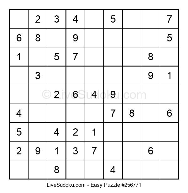 Beginners Puzzle #256771