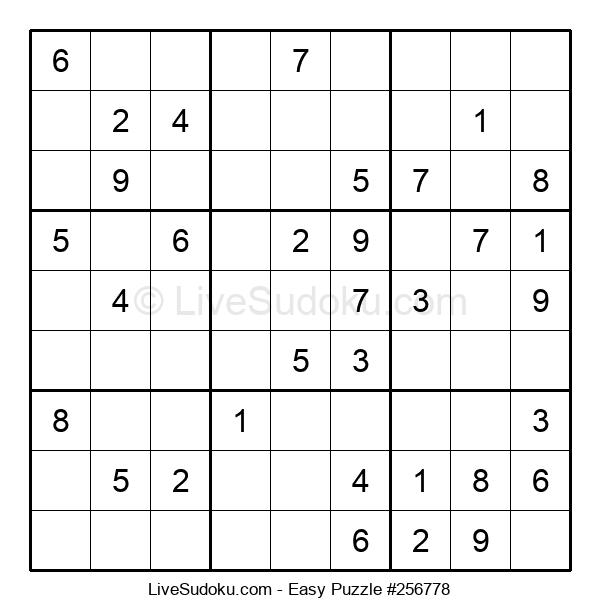 Beginners Puzzle #256778
