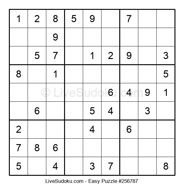 Beginners Puzzle #256787