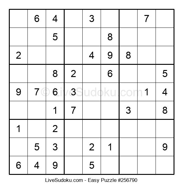 Beginners Puzzle #256790