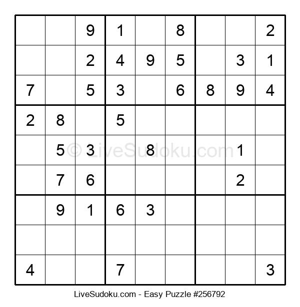 Beginners Puzzle #256792