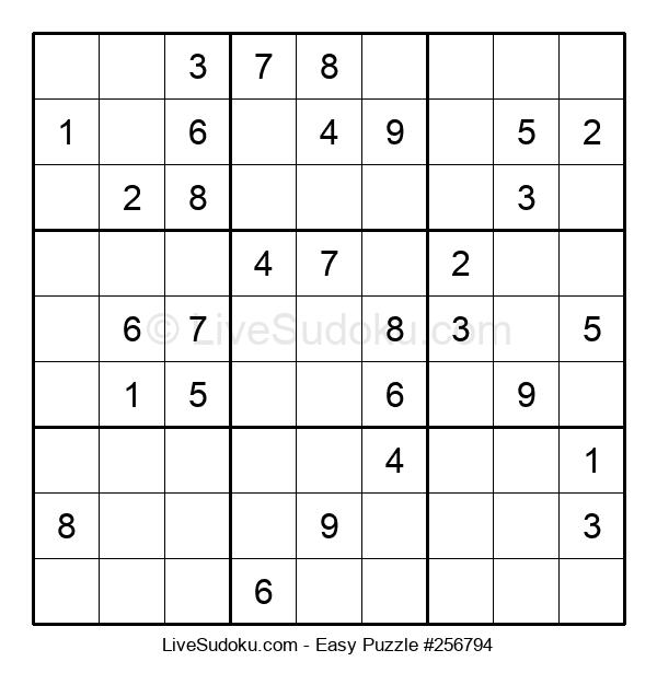 Beginners Puzzle #256794