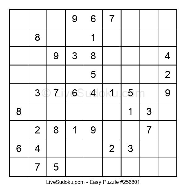 Beginners Puzzle #256801
