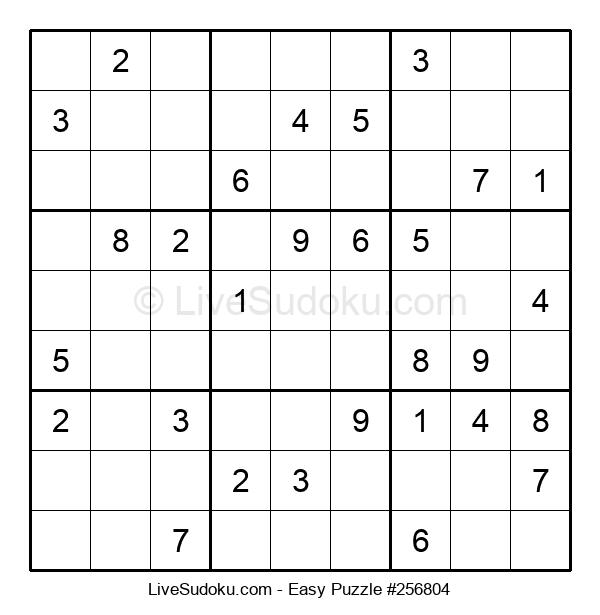 Beginners Puzzle #256804