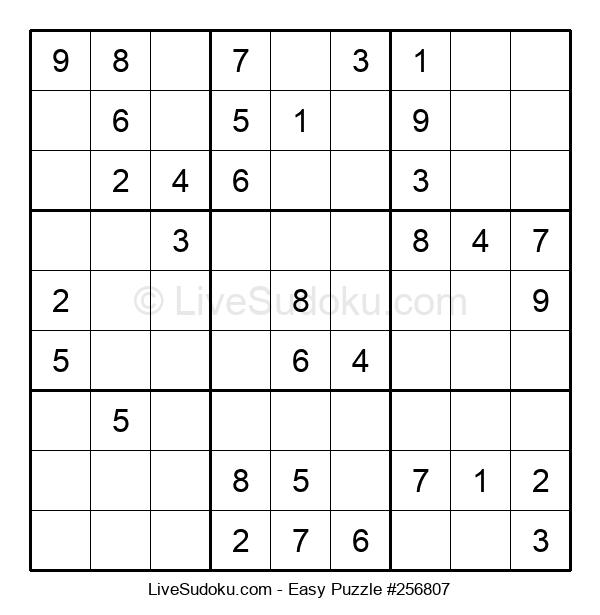 Beginners Puzzle #256807