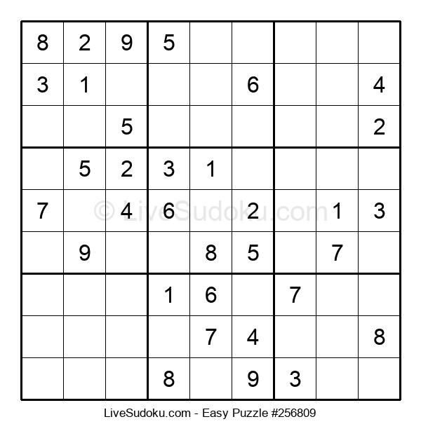 Beginners Puzzle #256809