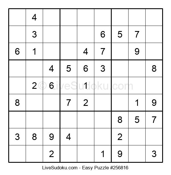Beginners Puzzle #256816