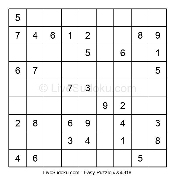 Beginners Puzzle #256818