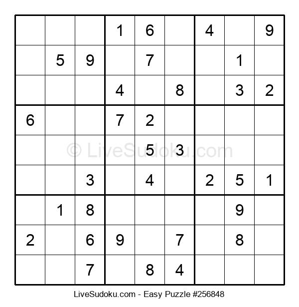 Beginners Puzzle #256848