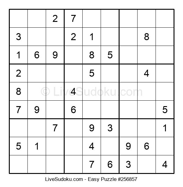 Beginners Puzzle #256857