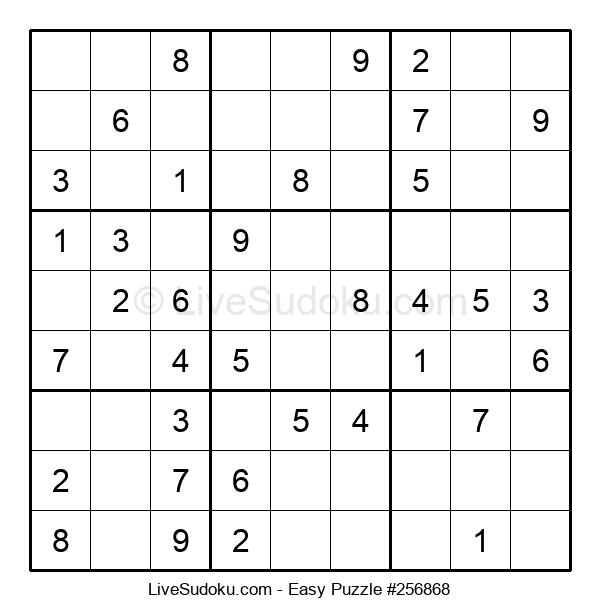 Beginners Puzzle #256868