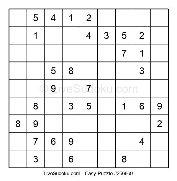 Beginners Puzzle #256869
