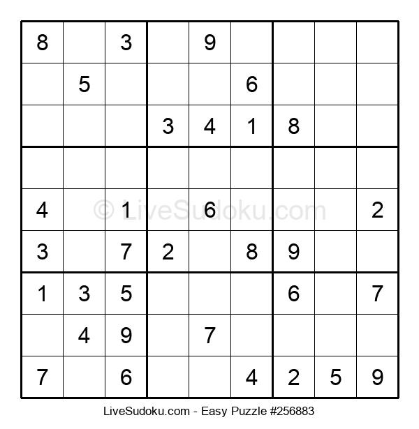 Beginners Puzzle #256883