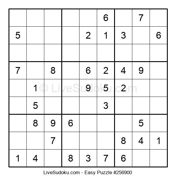 Beginners Puzzle #256900