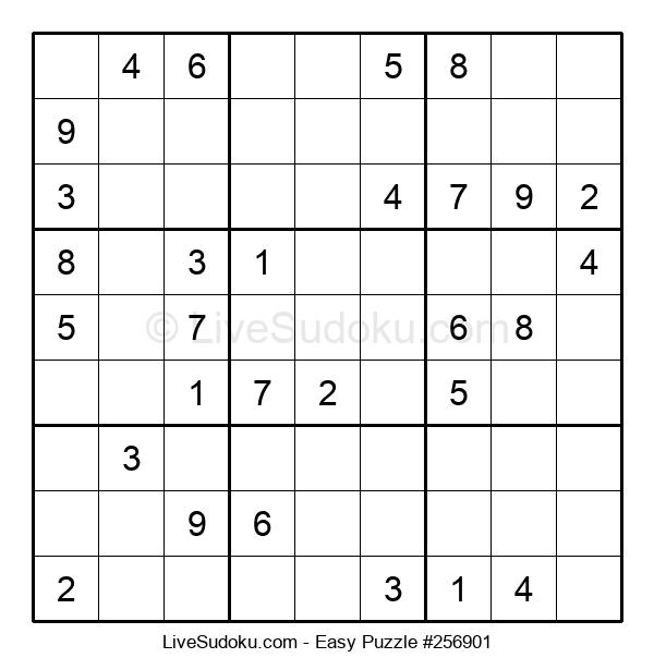 Beginners Puzzle #256901