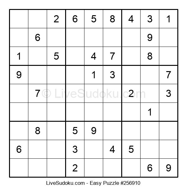 Beginners Puzzle #256910