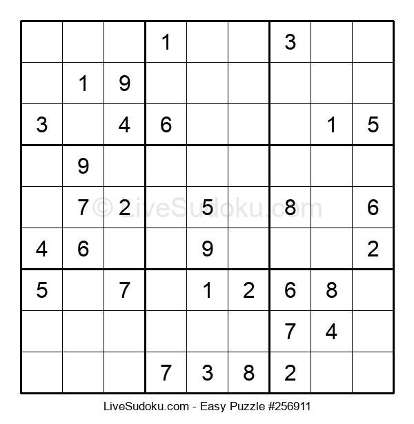 Beginners Puzzle #256911