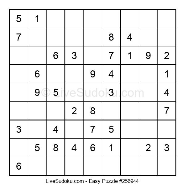 Beginners Puzzle #256944