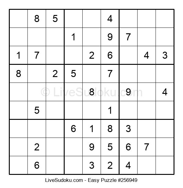Beginners Puzzle #256949
