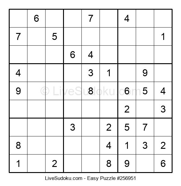 Beginners Puzzle #256951