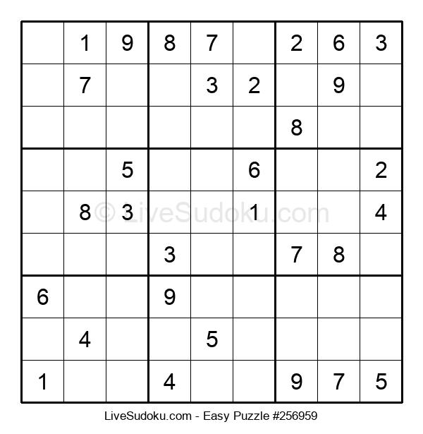 Beginners Puzzle #256959