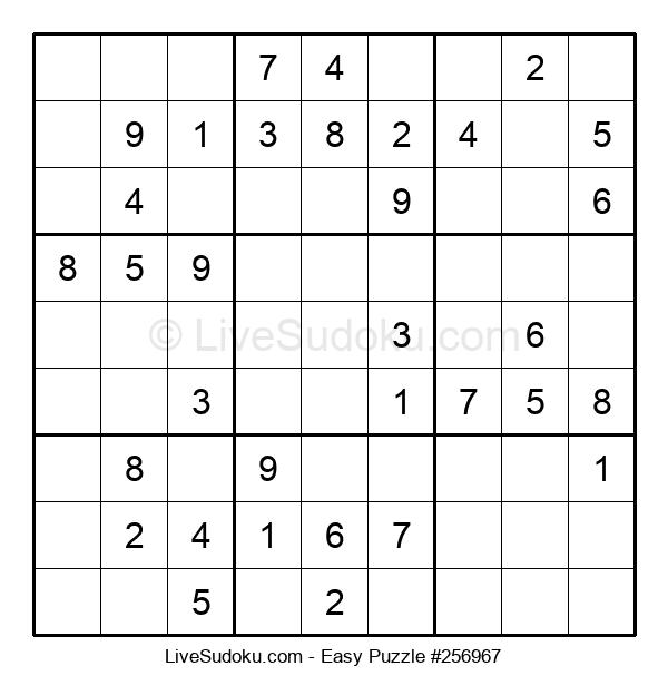 Beginners Puzzle #256967