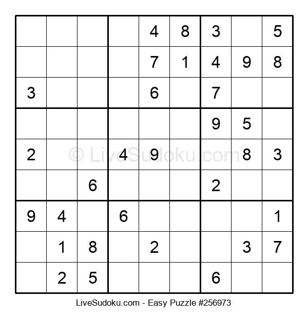 Beginners Puzzle #256973