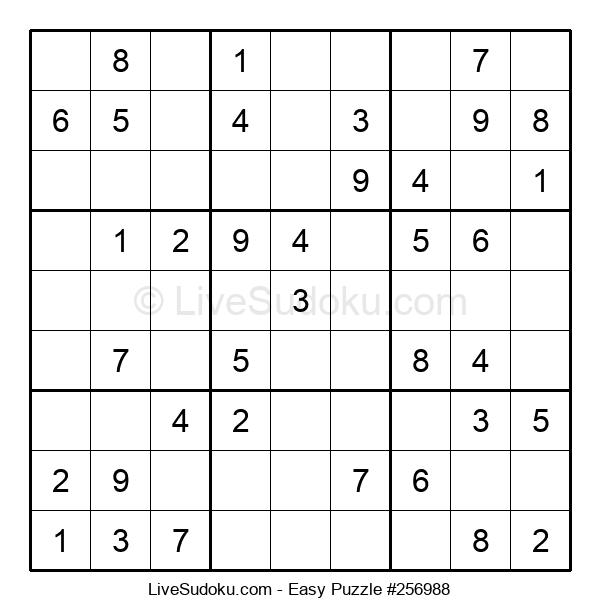Beginners Puzzle #256988